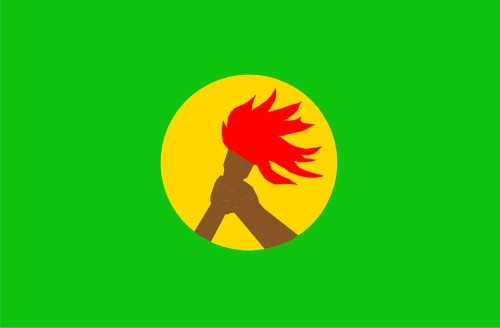 Флаг Заир