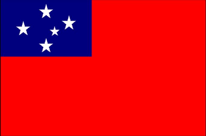 Флаг Западное Самоа