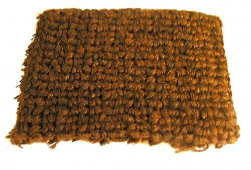 Padded mat made of growing rope (sisal) 0.5 x 0.5 m
