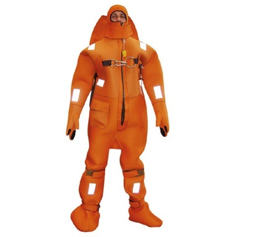 ARK-3 emergency overalls with sealed zipper