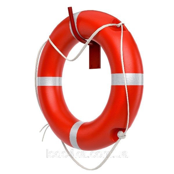 Круг спасательный морской 2,5 кг