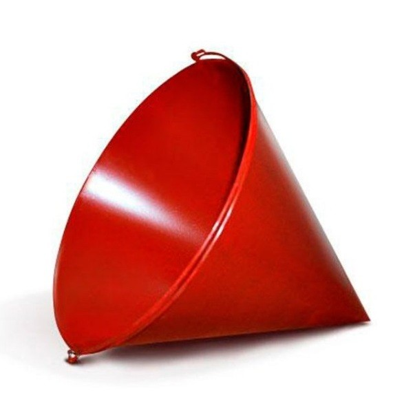 Cone bucket with lanyard (fire)