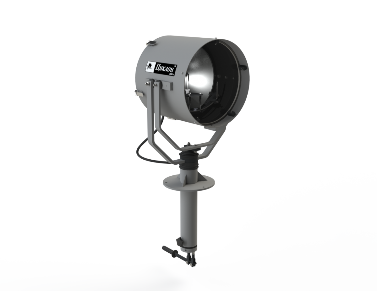 Прожектор на низкой стойке / управление из рубки (DH/3)