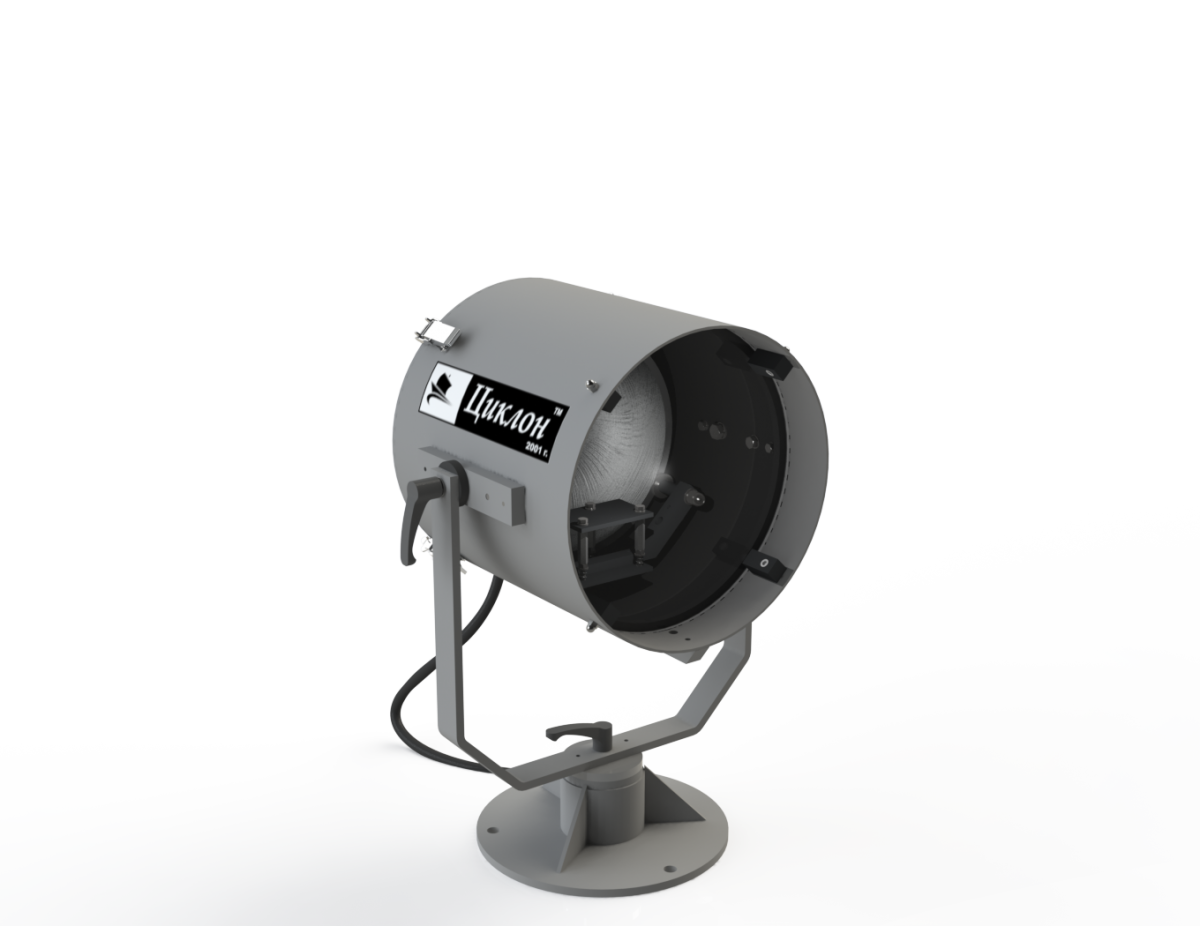Прожектор на низкой стойке / ручное управление (DH/1)