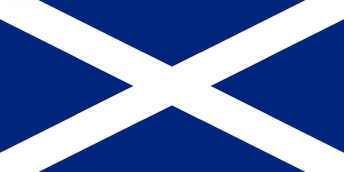 Флаг Шотландия