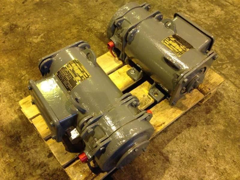 Электродвигатель МАП 211-4, 380В/220В, фланец