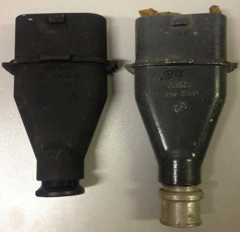 Вилка кабельная ШК 4х60