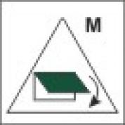 Дистанционное управление устройствами закрытия приемных и выпускных отверстий вентиляции для машинных помещений 150х150мм