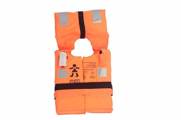 River life-saving vest for children