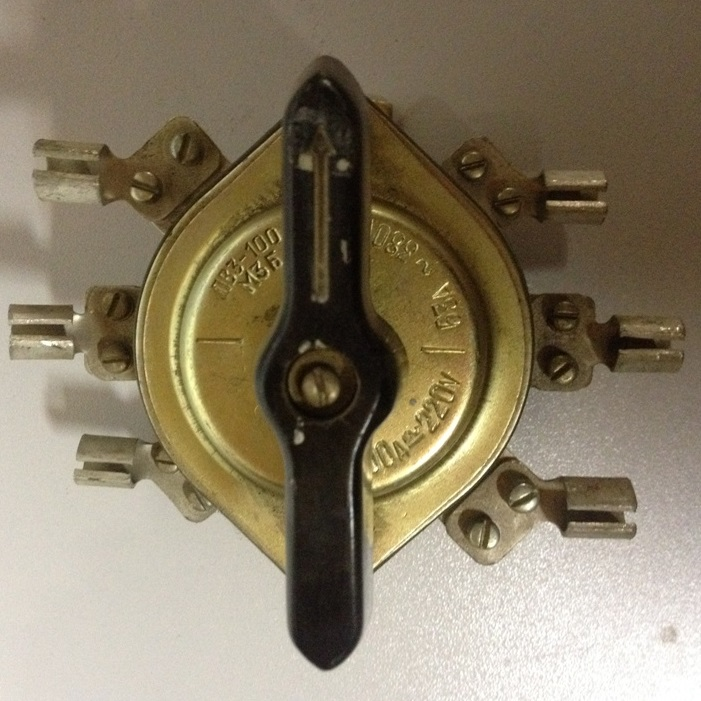 Пакетный выключатель ПВ3-100