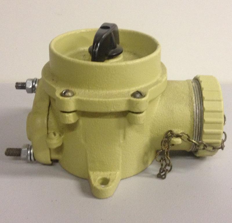 Plug socket with switch RSHV 2-41
