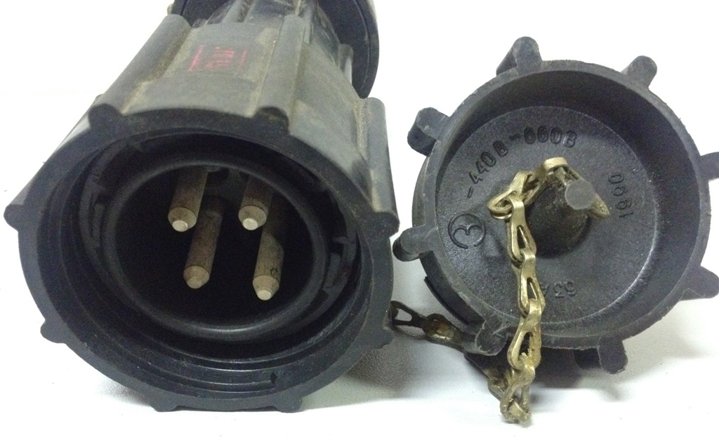 Вилка кабельная ВК63-4В1К