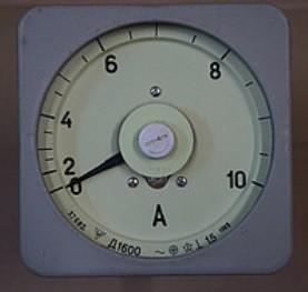 Ammeter D 1600