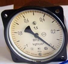 Vacuum meter VP3-U