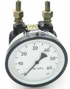 Differential pressure gauge ДСП-160-М1