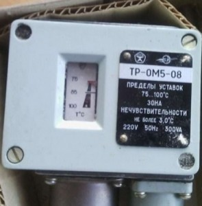 Temperature relay TR-OM5