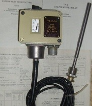 Temperature relay TR-K-08