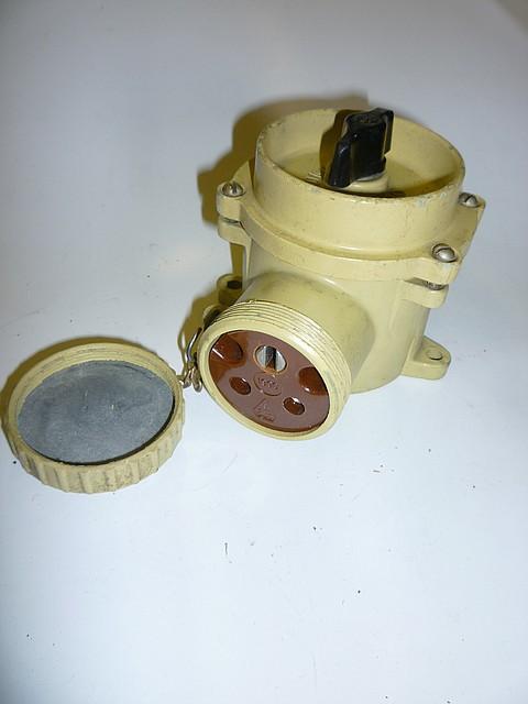Розетка штепсельная с выключателем РШВ2-42