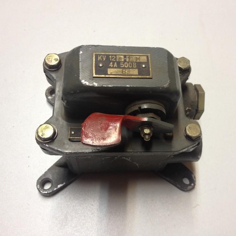 Push-button control station KU 123-11M