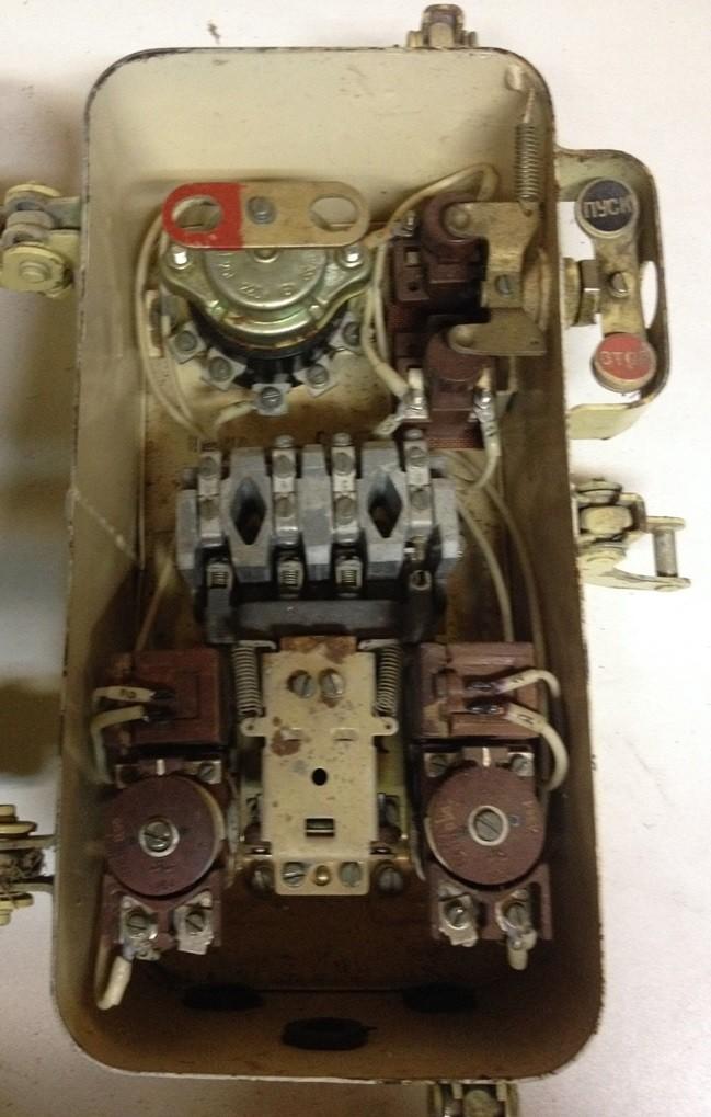 Magnetic starter PMM 1113 380 / 380V