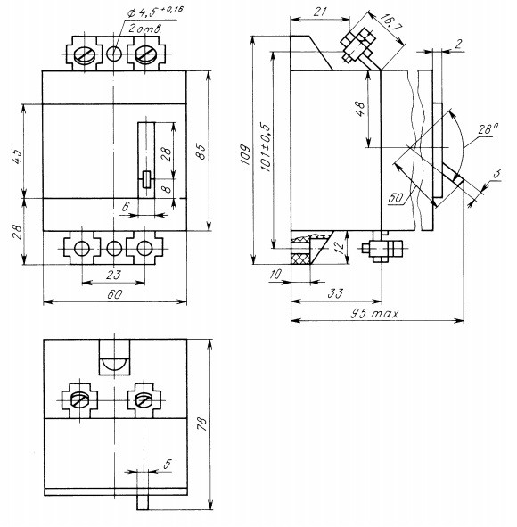 Автомат АС 25, АК 25-211 4 А (5)