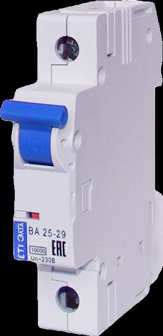 Автоматич. Выключатель ВА 25-29 10А 1ф