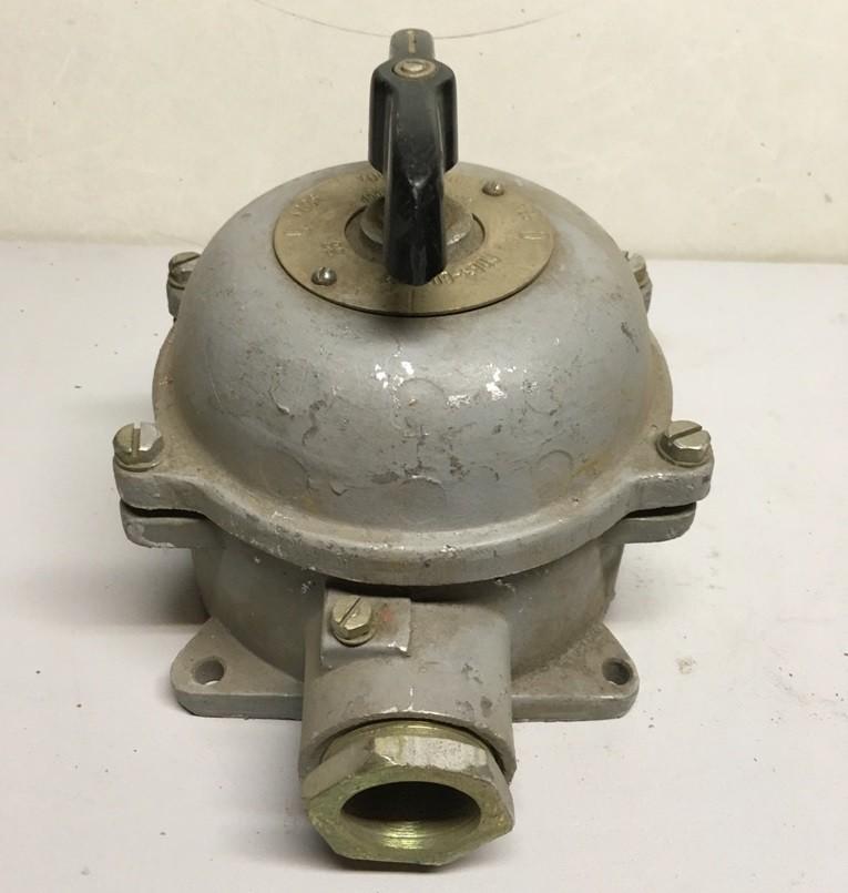 Герметичный пакетный выключатель ГПВ3-60