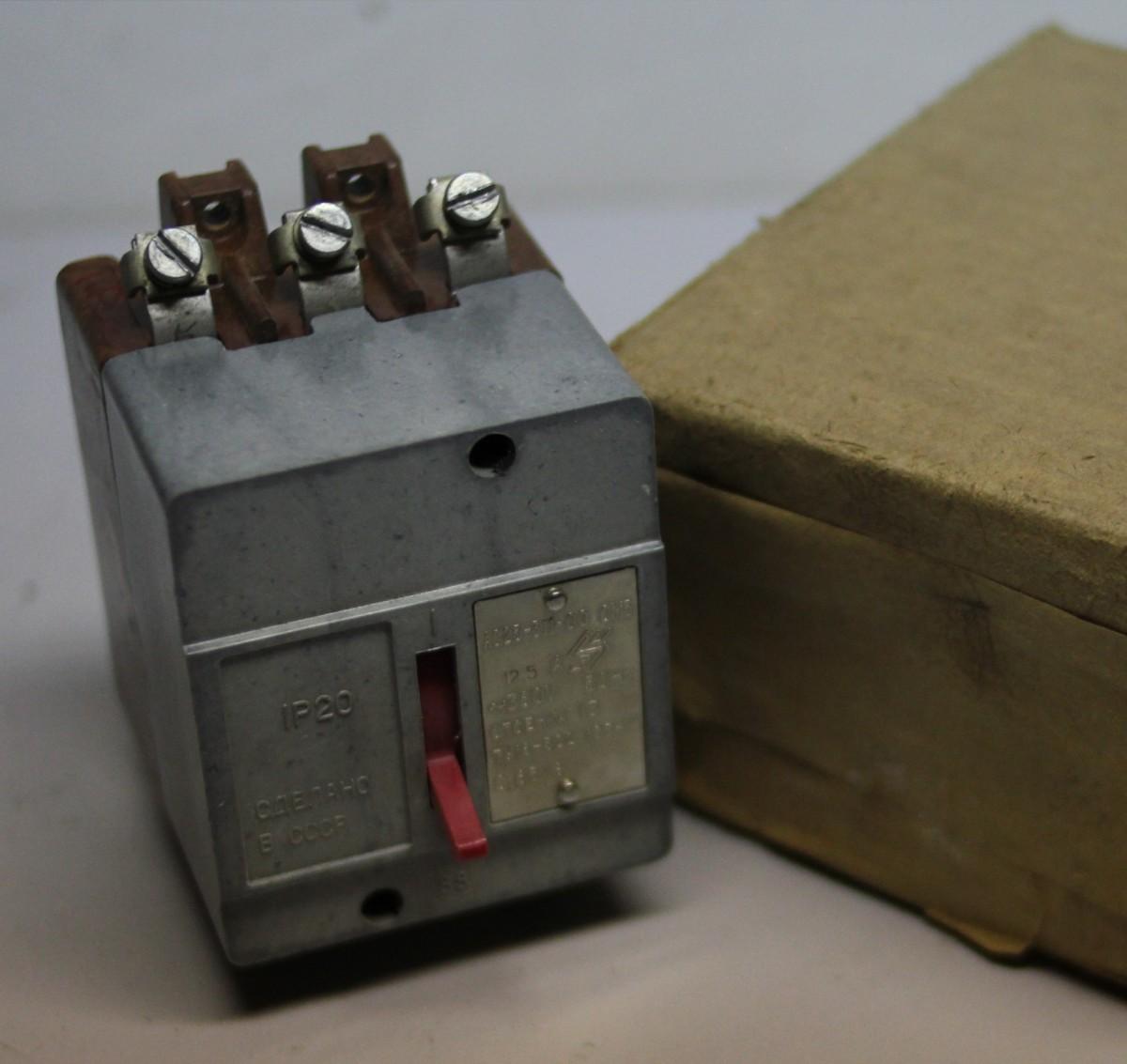 Автомат АС 25, АК 25-311 8 А (5)