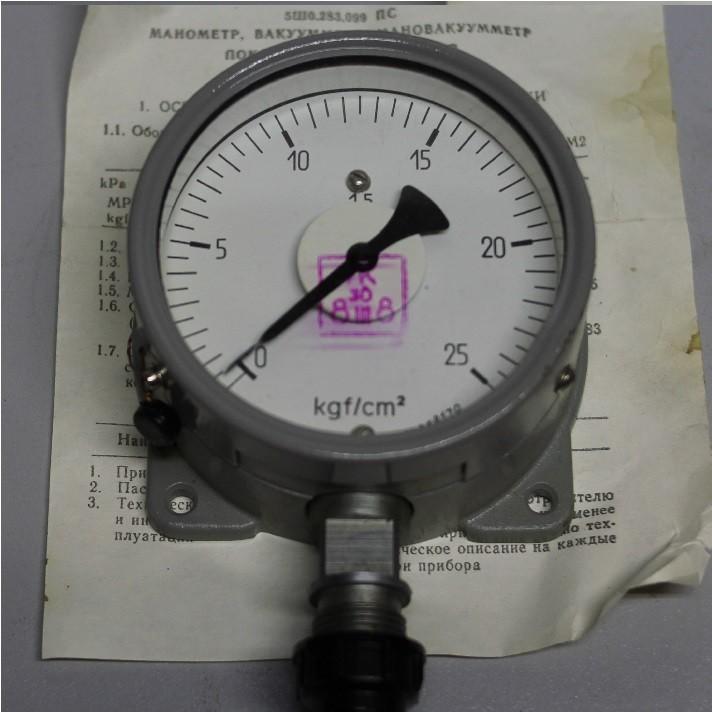 Manometer МТПСД-100-ОМ2 (0-25 kg / cm2)
