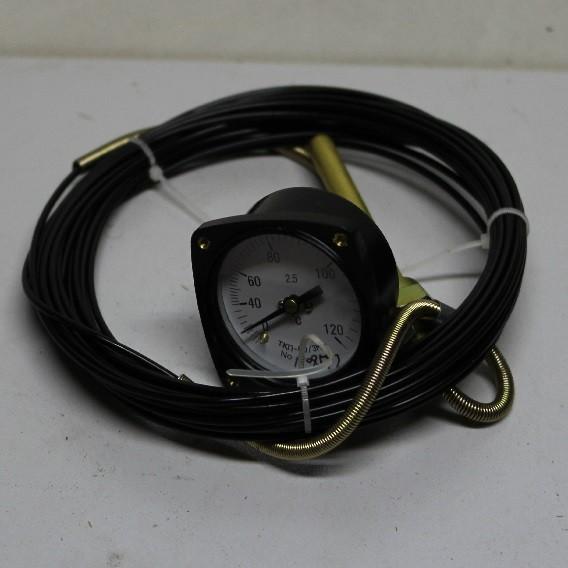 Термометр ТКП60 0-120 гр. 10м.