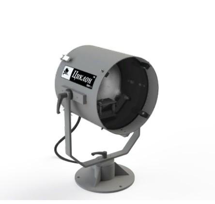 Low-pillar Searchlight / manual control (DH / 1)