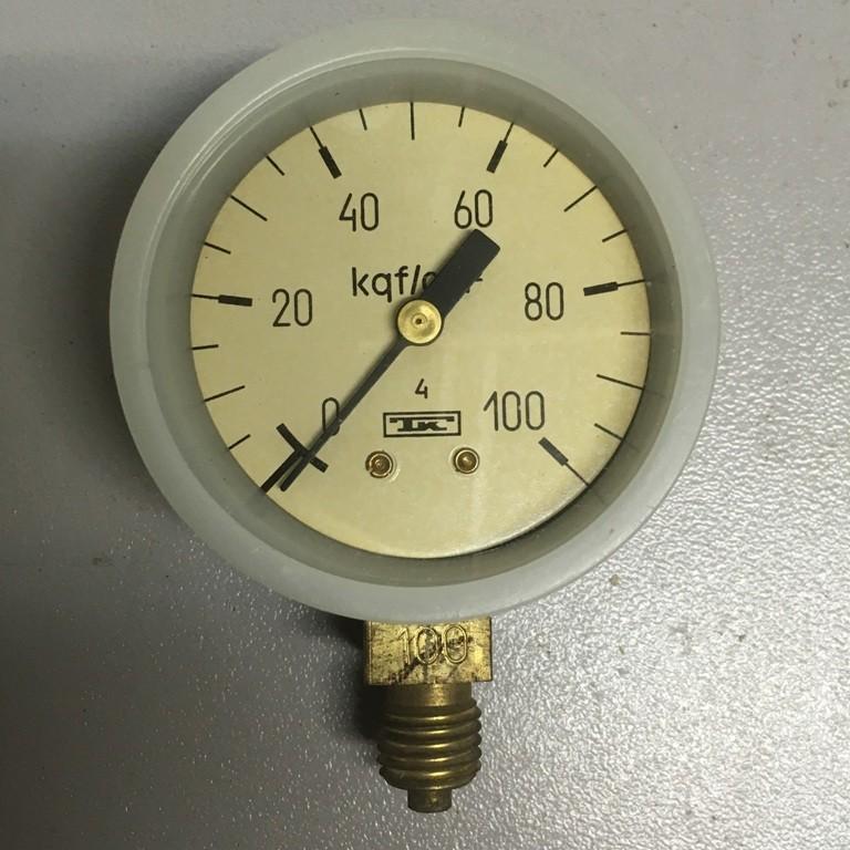 Манометр МТП-1М (0-100 кгс/см2)