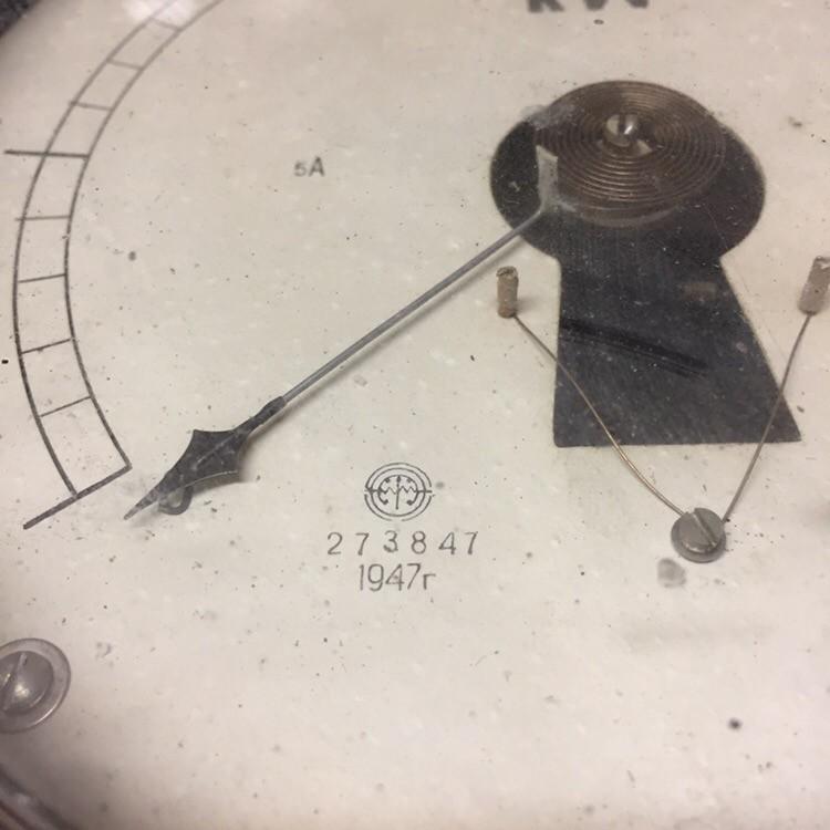 Ваттметр 1947г. 0-3,0 КW