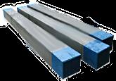 Emergency pine beam 130x130x2500 mm