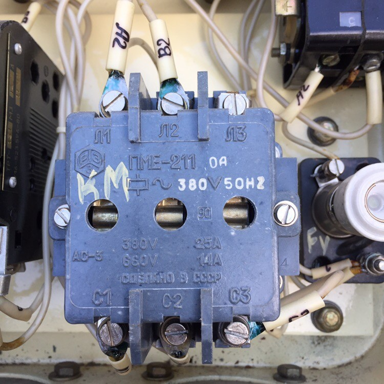 Контроллер КВ 1935Б ОМ1 380В