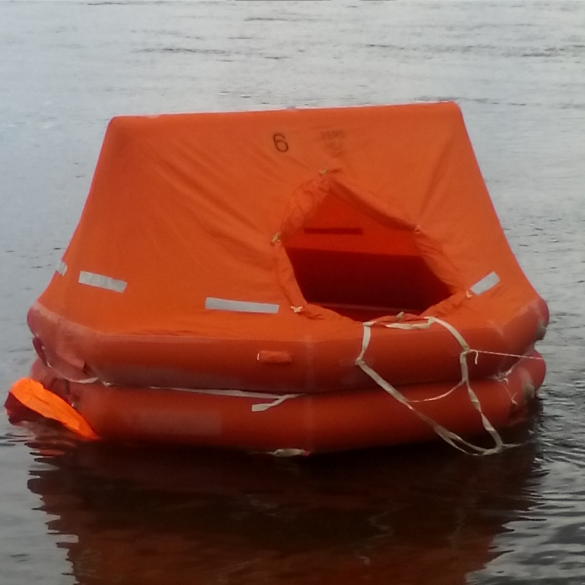 Inflatable river liferaft PSN-6R C Pack