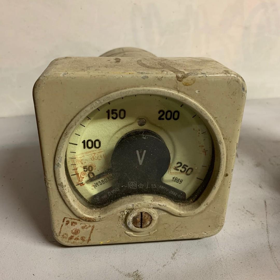 Амперметр Д150 0-250V