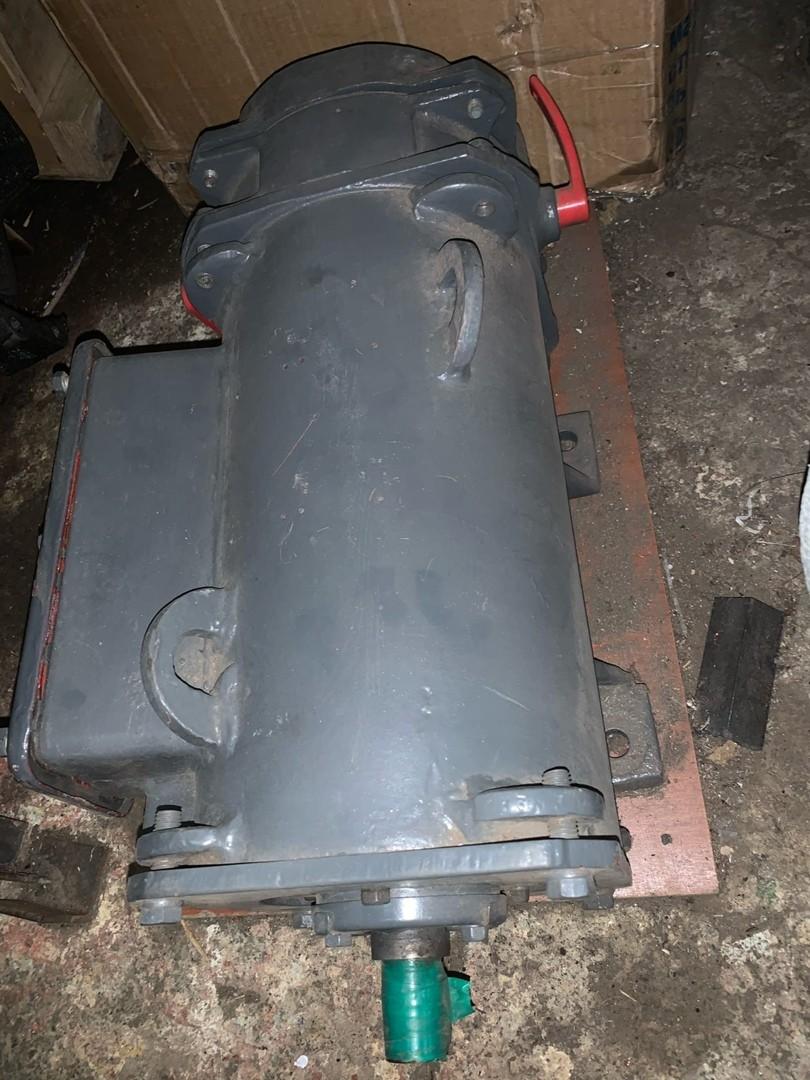 Electric motor MAP 122-4, 380 / 220V, TMT-12, paws