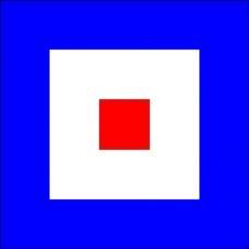 """Флаг МСС """"W"""""""