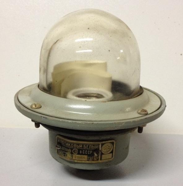 Светильник клотиковый белый СС-565-1