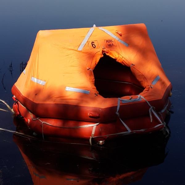 Плот спасательный речной ПСР-6У