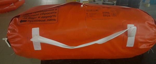 Плот спасательный речной ПСР-10У
