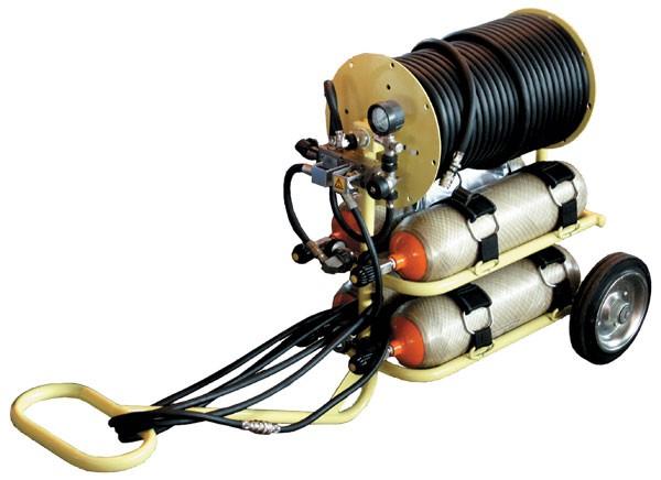 """Мобильная баллонная система подачи сжатого воздуха """"Модуль"""""""