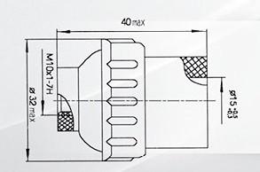 Патрон байонетный В15d-220ПН