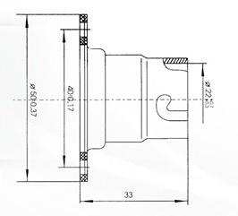 Патрон байонетный В22d-220МФ