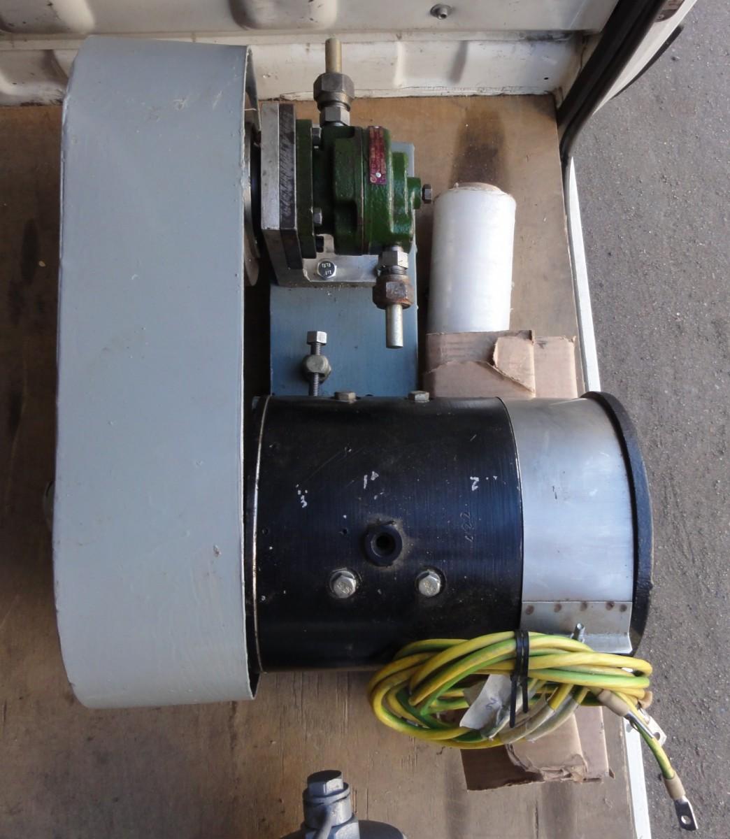 Агрегат с насосом 24В для РРГ-0,25