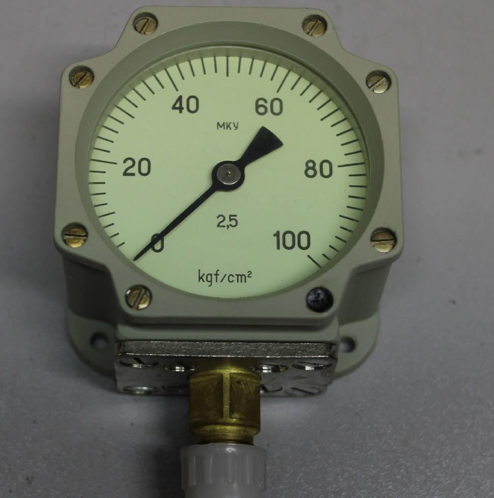 Манометр МКУ 0-100 (кг/см2)