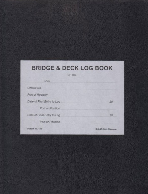 "Книга ""Deck Log Book"""