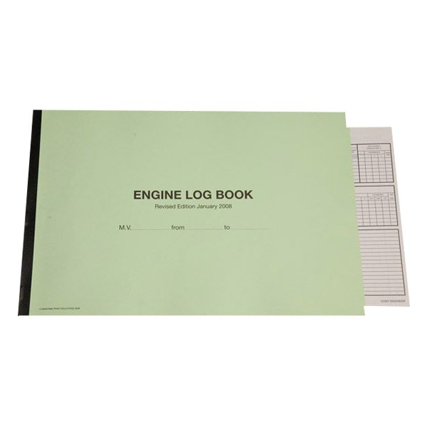 "Книга ""Engine Log Book"""